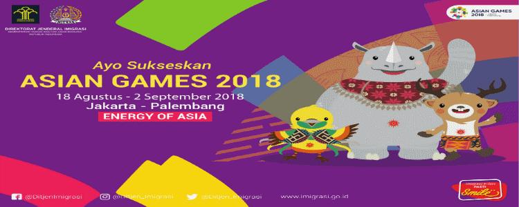 Sukseskan Asian Games 2018