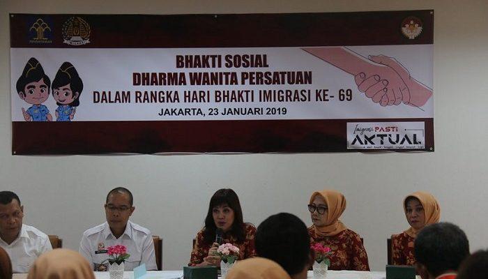 Kegiatan Dharma Wanita Persatuan Ditjen Imigrasi