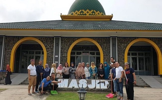 Bhakti Sosial, Kerja Bakti di Mesjid Nurul Bahri