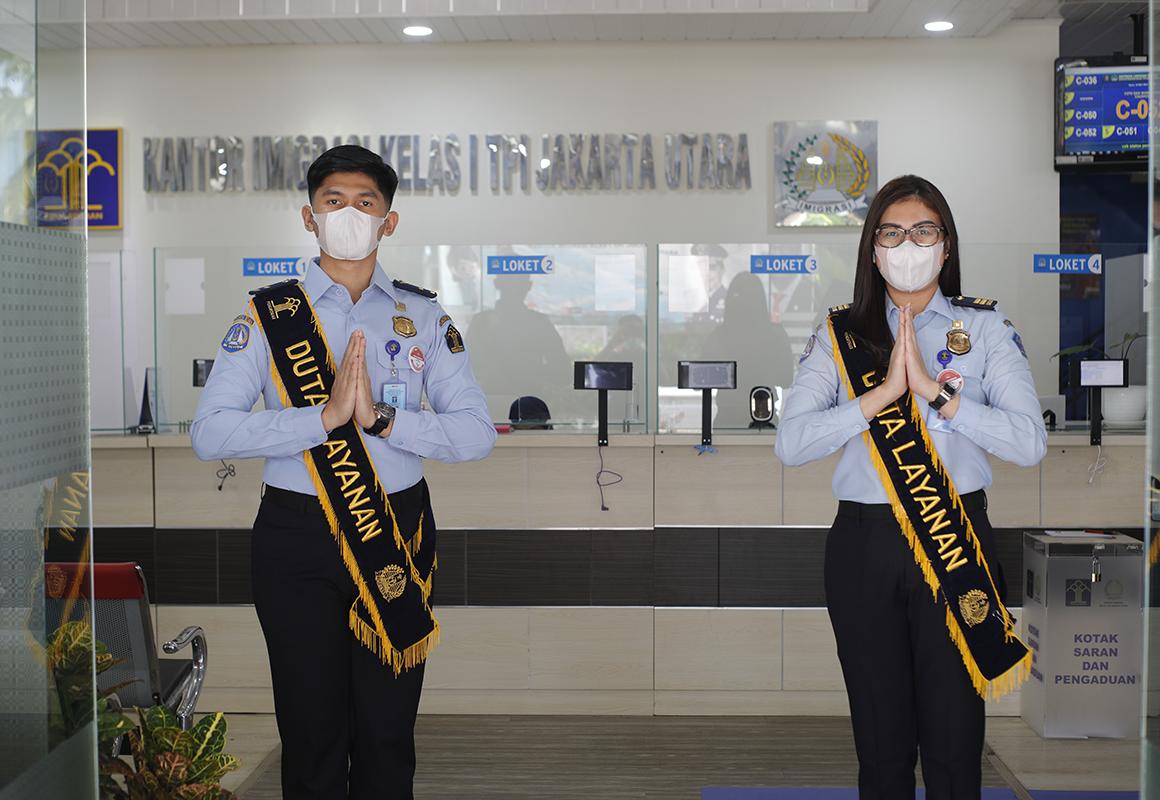 Duta Layanan Kantor Imigrasi Kelas I TPI Jakarta Utara