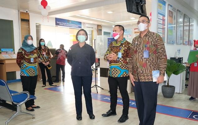 Kantor Imigrasi Kelas I TPI Jakarta Utara Terima Kunjungan Kantor Wilayah Kemenkumham DKI Jakarta pada hari Jumat 27 Agustus 2021