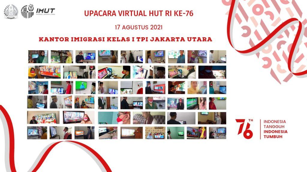 upacara virtual kemerdekaan RI